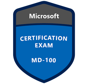 Microsoft MD-100 Exam